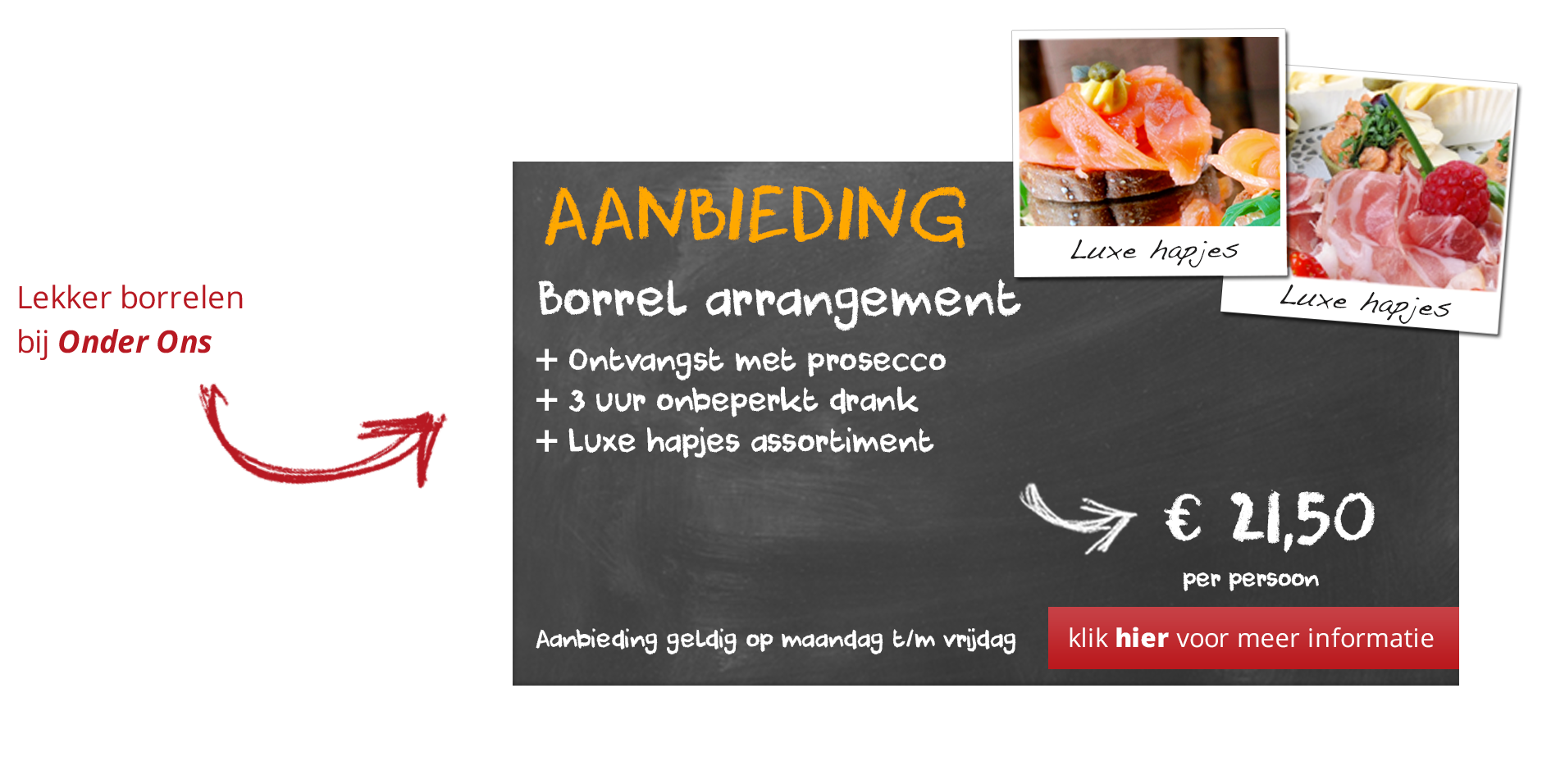 borrel-arrangement